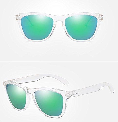 gafas libre de Gafas aire de gafas la green de clasico Black sol de al moda de conduccion polarizadas sol SxHP4Sq