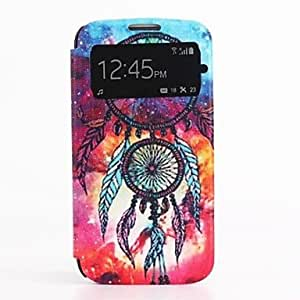 SHOUJIKE Oil Painting Pattern PU Leather Cover with Card Slot Cover for Samsung Galaxy S4 I9500
