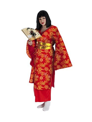 Plus Size Geisha Costume - Womens -