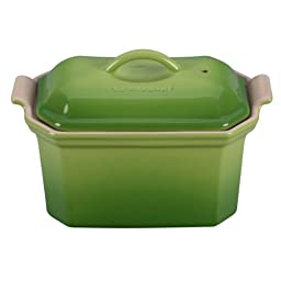 Le Creuset Stoneware Heritage Pate Terrine with Press, Palm