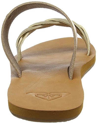 Roxy Tan Tess Marron Femme Tongs 4n4rZTwq