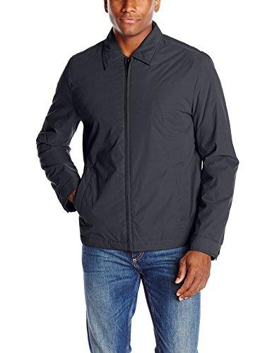 Dockers Men's Open Bottom Golf Jacket, Black, Medium