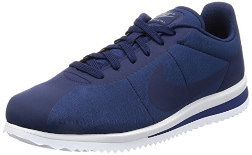 Nike Mens Cortez Ultra Casual Scarpa Blu Binario / Blu Binario