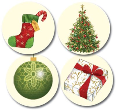 (Lacy Ornaments Envelope Seals (pack of 25))