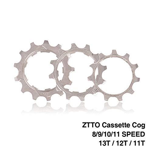 Shimano Accessory - HEALTHLL 1 PCS MTB Road Bike Freewheel Cog 8 9 10 11 Speed 11T 12T 13T Bicycle Cassette Sprockets Accessories for Shimano SRAM 8 Speed 12T