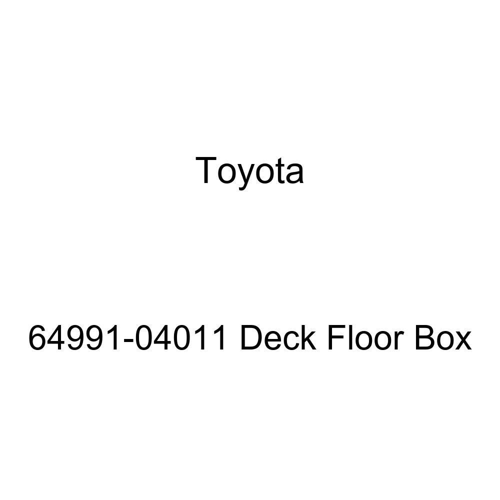 TOYOTA 64991-04011 Deck Floor Box