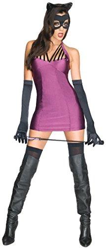 Opera Dc Halloween (Secret Wishes Women's Dc Super Villians Catwoman Costume, Multi,)