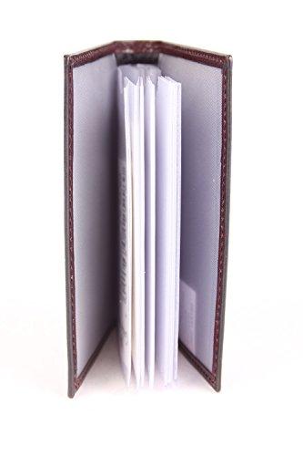 Golden Head Colorado Porta tarjetas de credito 6,5 cm piel rojo oscuro