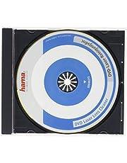 Hama DVD reinigingsdisc laser (voor het verwijderen van vuil in dvd-stations, incl. videoprogramma, laserreinigende DVD)
