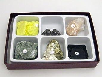 Tenacity Mineral Properties Collection 6 Piece Rock Kit