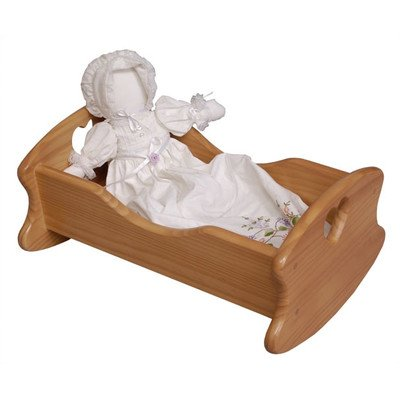 Little Colorado Doll Cradle Finish: White ()