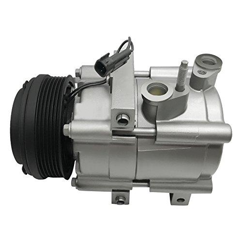 RYC Remanufactured AC Compressor and A/C Clutch FG198