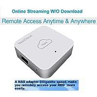 Microware WiFi Router SATA USB 3.0 HDD NAS case Aluminium HDD WiFi Storage External Hard Disk Enclosure