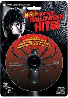 Mistress Macabres Hottest Halloween Hits One CD Halloween Party -