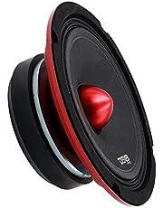 "DS18 PRO-X6.4BMSL Pro Series Slim Midrange 4-Ohm Loudspeaker 250W Rms, 500W Max Power-Set of 1-6.5"""