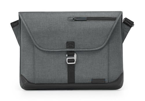 Brenthaven Collins Sleeve Plus with Shoulder Strap for MacBooks Laptops or Ultrabooks Upto 15-Inch (1901101) (Brenthaven Shoulder Case)