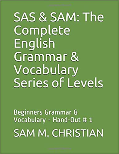 Amazon com: SAS & SAM: The Complete English Grammar