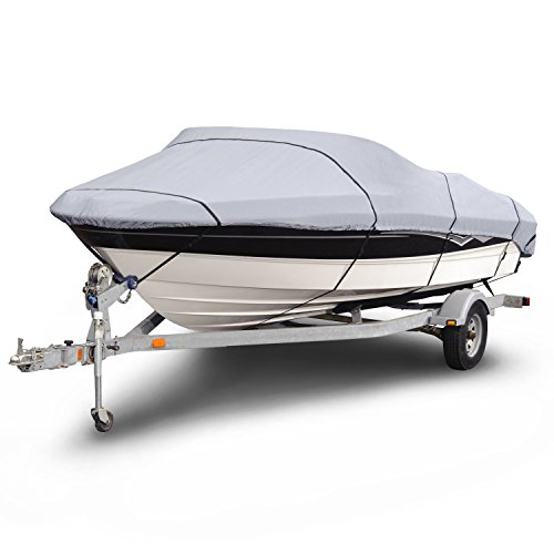 BUDGE 1200 Denier Boat Cover fits V-Hull Runabouts / Bass...