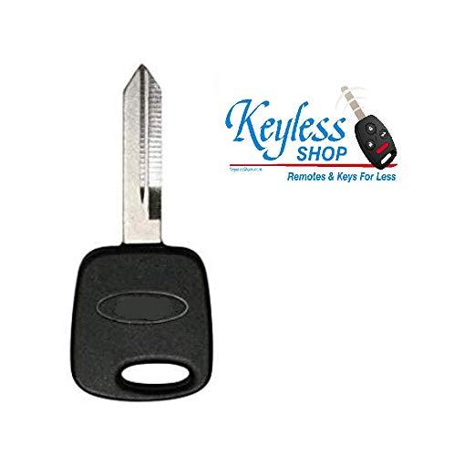 1998 1999 2000 2001 2002 2003 Ford F150 F250 F350 Un-Cut Transponder Ignition Key (DIY Programming) ()