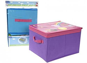 Peppa Pig Folding Storage Box (Assorted Blue / Lilac - 1 supplied)  sc 1 st  Amazon UK & Peppa Pig Folding Storage Box (Assorted: Blue / Lilac - 1 supplied ...