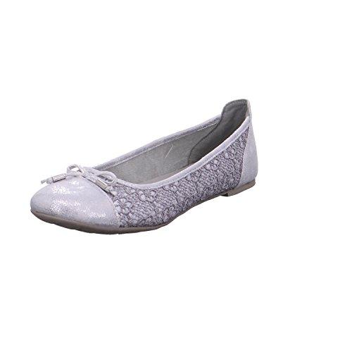 Marco Tozzi 2-2-22131-38/221-221 - Zapatos de vestir para mujer 221GREY COMB