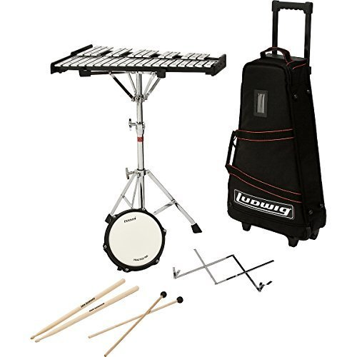 Ludwig M651R Educational Bell Kit w/Rolling Bag ()