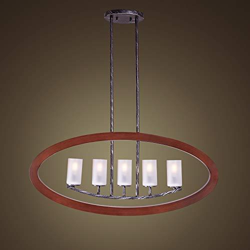 Oval Drum Light Pendant in US - 8