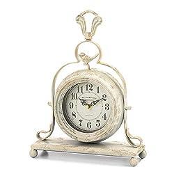SpacePlug Shop Vintage Tabletop Clock