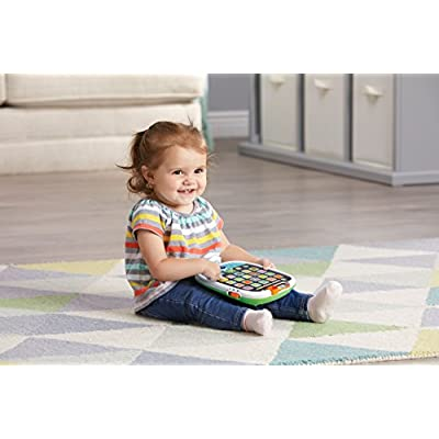 LeapFrog My First Learning Tablet, White and green, Great Gift For Kids, Toddlers, Toy for Boys and Girls, Ages 1, 2, 3: Toys & Games