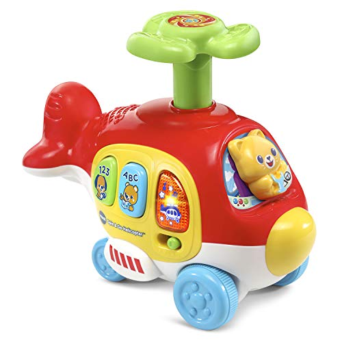 VTech Spin & Go Helicopter, Red ()