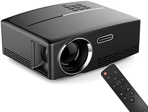 ERISAN 2017 Portable LED Projector, 1800 Lumens 180