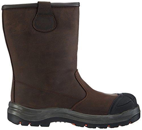 GevaviGS85 S3 GEVAVI WERKLAARS - Zapatos de Seguridad Unisex adulto Marrón - Braun (Braun(Bruin) 05)