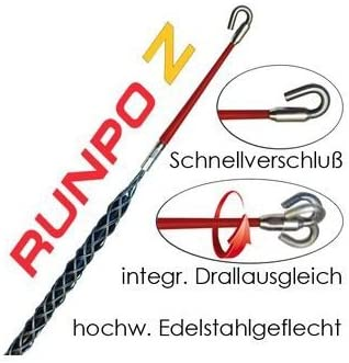 Runpotec 20272 Runpo Z Kabelziehstrumpf Ø 4 6 Mm Baumarkt