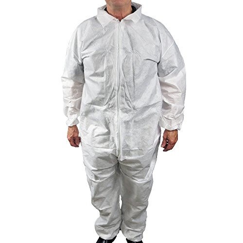 - UltraSource Disposable SMS Coveralls, Large (Pack of 25)
