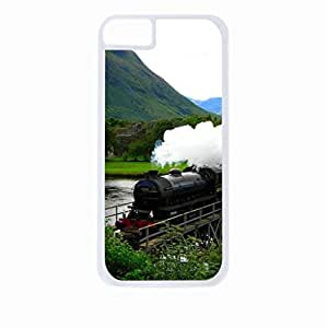 Hogwarts Train- Hard White Plastic Snap - On Case-Apple Iphone 4 - 4s - Great Quality!
