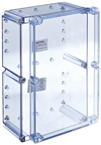 BUD Industries BT-2740 Polycarbonate NEMA 4X Box, 9-7/16