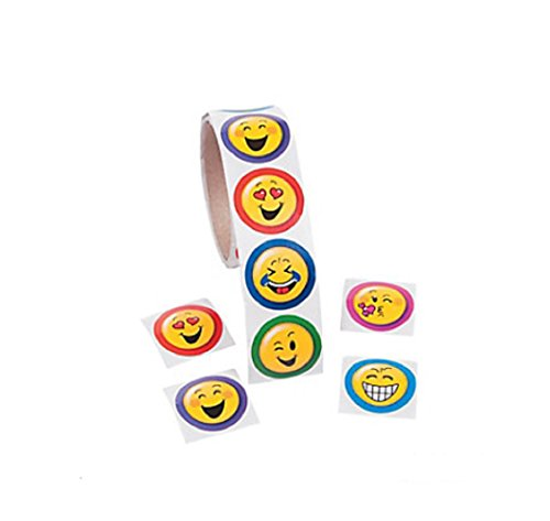 Emoji Stickers (Roll of 100)