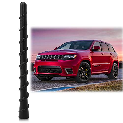 Antenna Mast Perfect Replacement Screw Thread Antenna Fit Jeep Grand Cherokee Liberty 2010-2018 Accessories