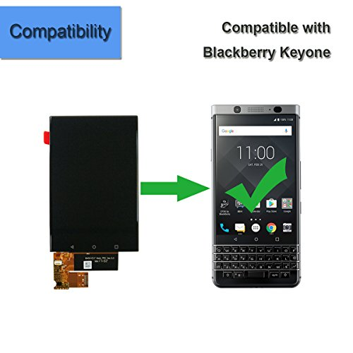 for BlackBerry Keyone DK70 DTEK70 BBB100-1 BBB100-2 BBB100-3 BBB100-4 BBB100-6 Assembly LCD Display Touch Screen Digitizer Replacement with Tools by Melphyreal (Image #3)