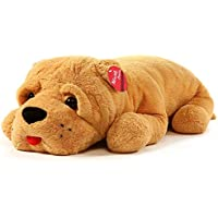 Niuniu Daddy Super Soft Stuffed Dog Plush Puppy Pillow for Home Office Decoration 24 Inches Soft Animal Hugging Pillow