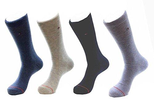 Tommy Hilfiger Mens 4 Pack Socks