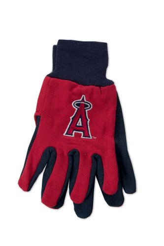 Glove Angels Garden - MLB Los Angeles Angles Two-Tone Gloves, Red/Blue