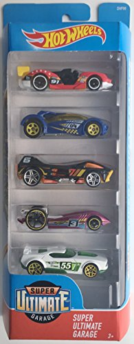 Top Hot Wheels 2018 Super Ultimate Garage 1:64 Scaled 5-Pack for cheap