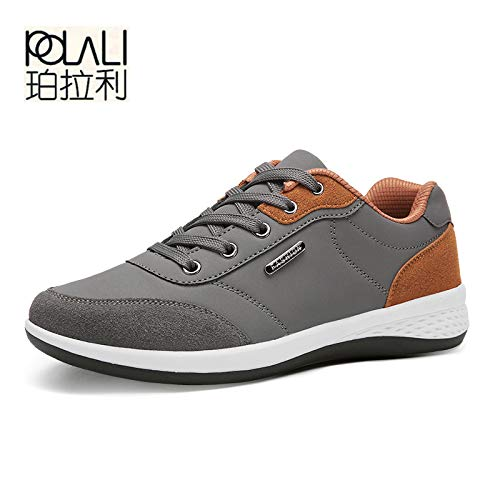 d91694ee5f0a4 Amazon.com: DingXiong POLALI Spring Men Shoes Lace-Up Man Fashion ...