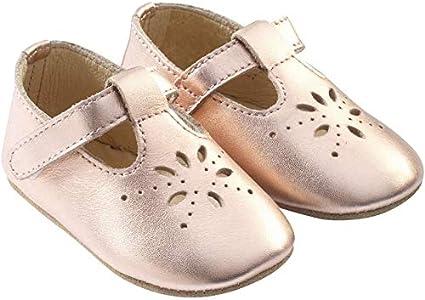 Tichoups Chaussures b/éb/é cuir souple Salom/é dor/ée 16//17