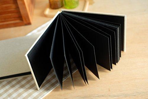 plain burlap hessian diy photo album  wedding guest book