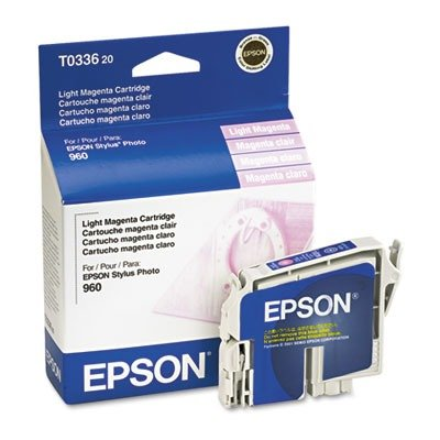 Epson T033620 - T033620 DURABrite Ink, 440 Page-Yield, Light Magenta
