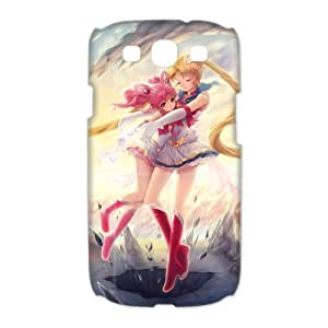 Sailor Moon Classic Cartoon Samsung Galaxy S3 I9300 I9308 I939 Cases Cover Logo