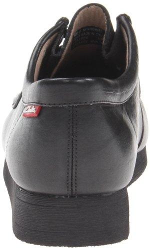 Clarks Stinson Lo - Zapatos de cordones de cuero para hombre negro negro