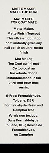 JINsoon Matte Top Coat Maker